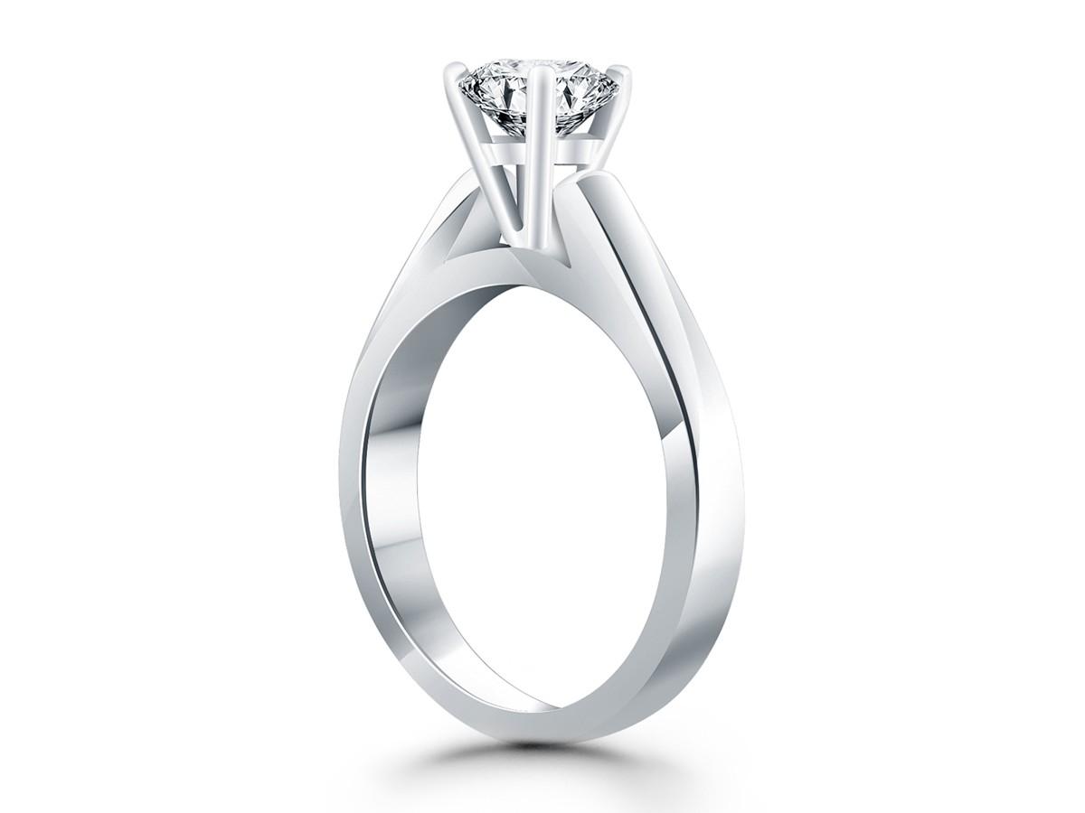 Silver K Wedding Ring Set Engagement