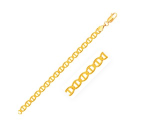 Mariner Link Chain in 14K Yellow Gold (4.5 mm)